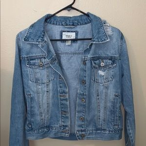 Forever 21 Denim Jean Jacket